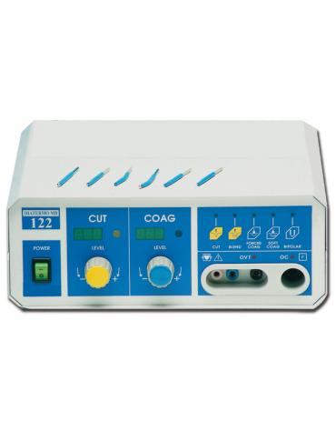 DIATERMO MB 122 VALUE - per interventi di media chirurgia mono-bipolare - 120 Watt - mm 260 x 110 x 265h