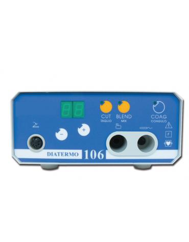 DIATERMO 106 - monopolare per interventi di piccola chirurgia di emergenza - 50 Watt - mm 180 x 180 x h 100