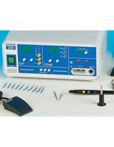 DIATERMO MB200 - per effettuare media elettrochirurgia mono-bipolare - 200 Watt - mm 360x265x150h