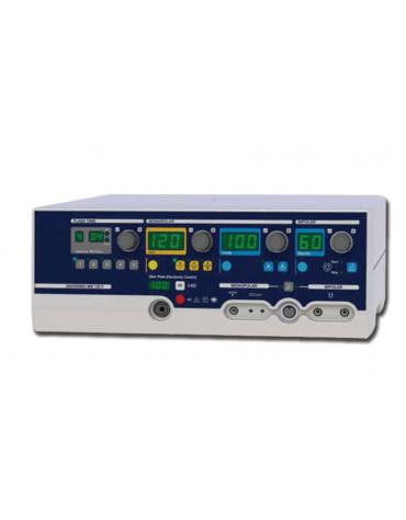 MB FLASH è un elettrobisturi per interventi di microchirurgia e chirurgia di precisione monopolare e bipolare - mm 370x319x144h