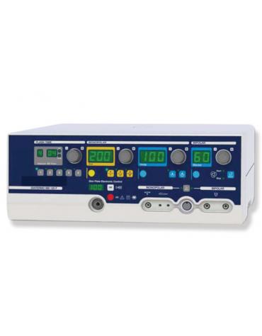 MB FLASH è un elettrobisturi per interventi di microchirurgia/chirurgia di precisione mono e bipolare - 200 W - mm 370x319x144h