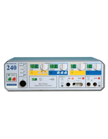 Diatermo MB 240, ideale per eseguire chirurgia mono e bipolare - 800 W - mm 370 x 470 x h 150