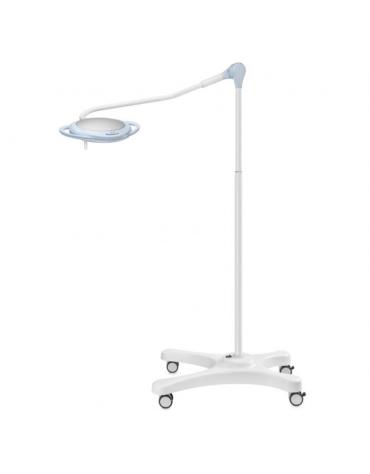 Lampada PENTALED a 28 riflettori ellittici - su carrello + batteria, luce fredda 120.000 Lux