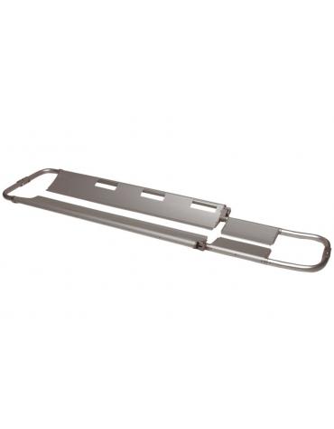 Barella a cucchiaio in alluminio pieghevole, portata: 150 kg - cm 221 x 43