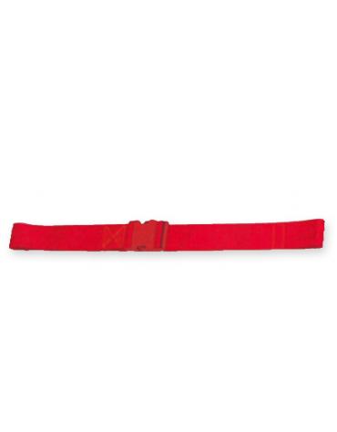 Cintura tipo A colore rosso, immobilizzazione per barelle ed estrinsecatori spinali cm 5x213