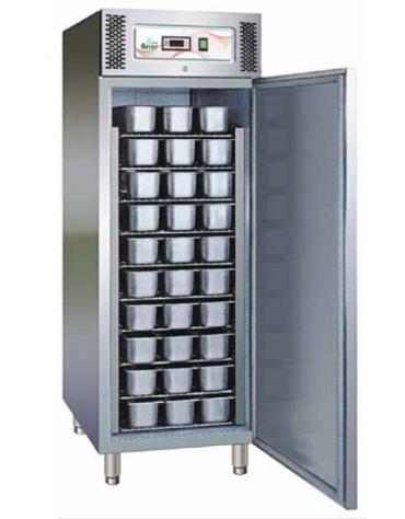 Armadio per vaschette gelati - Possibilità di contenere fino a 54 Vaschette da Lt 5 - cm 74x99x201h