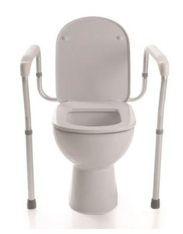 RIALZO WC CON SEDILE altezza regolabile