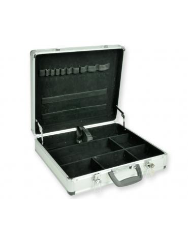 Valigetta in alluminio emergenze vuota - cm 40 x 35 x 10 h