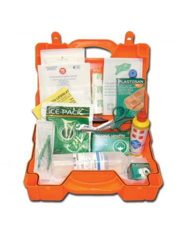 Kit Pronto Soccorso con valigetta in plastica - mm 290 x 215 x 90