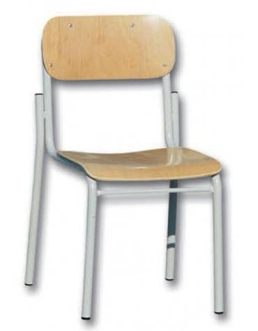 Sedia scolastica sovrapponibile faggio Grad. 06
