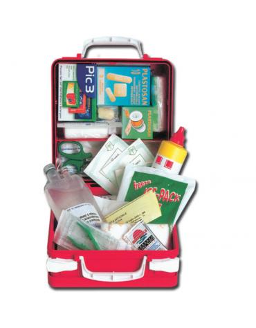 Kit Pronto Soccorso con valigetta in plastica - mm 275 x 240 x 123