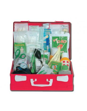 Valigetta in plastica vuota - per Kit Pronto Soccorso - mm 395 x 270 x 135h