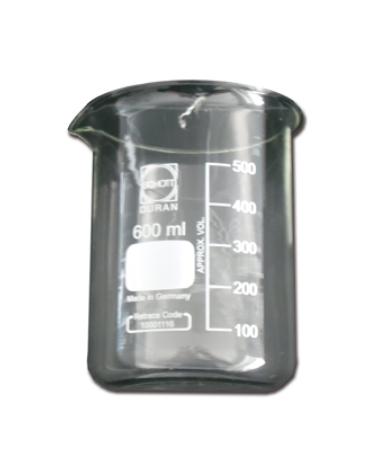 Bicchiere 600 ml per per pulitrici ad ultrasuoni mod. 2800 - 3800 - 5800 - 8800