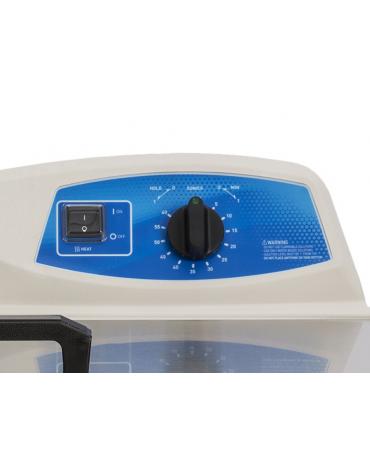 Pulitrice ad ultrasuoni, con capacità vaschetta 20,8 L - timer regolabile - mm 596 x 466 x 391h