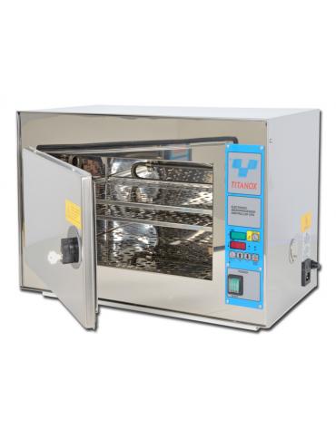 Sterilizzatrice a secco titanox 20 L, con chiusura a chiave, dim. interne mm 405x255x210h