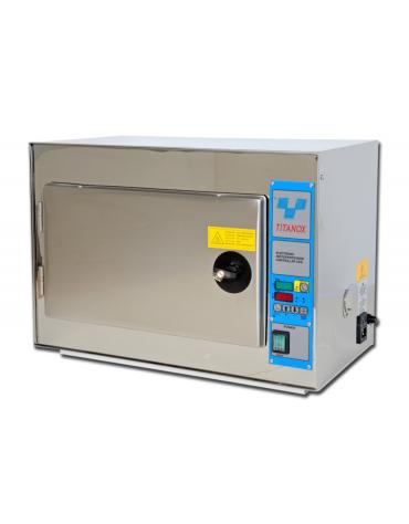 Sterilizzatrice a secco titanox 60 L, con chiusura a chiave, dim. interne mm 535x320x345h