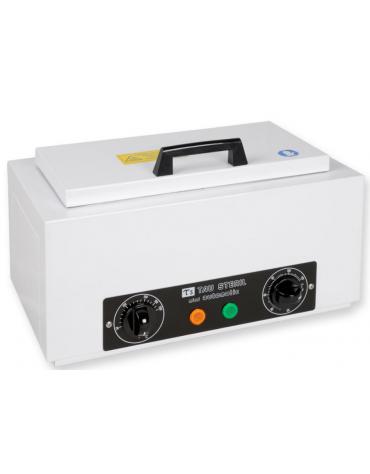 Sterilizzatrice a secco Tau 1,6 L, camera di sterilizzazione inox 18/8 con vassoio estraibile perforato) interno mm 245x115x55h