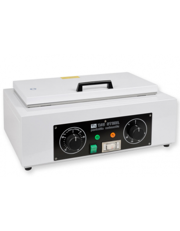 Sterilizzatrice a secco Tau 6 L, camera di sterilizzazione inox 18/8 con vassoio estraibile perforato) interno mm 495x320x220h