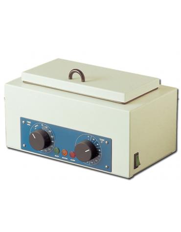 """Sterilizzatore a secco """"Gimete 1,5 in acciaio inox lucido 18/10 - 1,5 L - dim. int. mm 245x120x50h"""