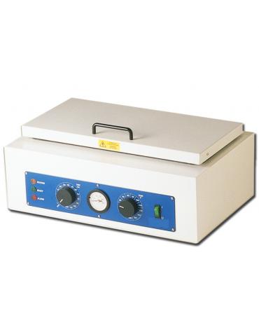 """Sterilizzatore a secco """"Gimette 7 in acciaio inox lucido 18/10 - 1,5 L - dim. int. mm 410 x 180 x 90h"""