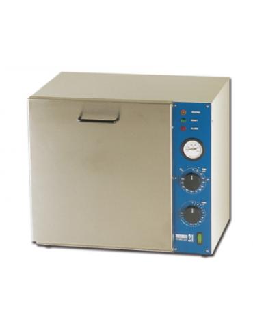 """Sterilizzatore a secco """"Gimette 21"""" in acciaio inox - 21 L - dim. int. mm 300 x 250 x 260h"""