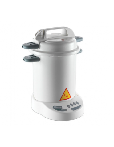 "Autoclave verticale ""Prestige Medical"" con cestello, capacità 12 L - Dim int. diam. mm 210x328h"