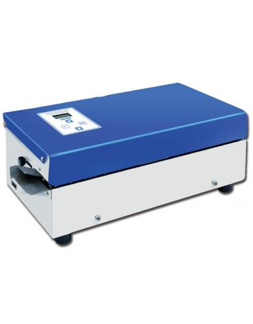 Termosaldatrice rotativa D-700 digitale con stampante - altezza saldatura mm 12,5 - mm 473 x 235 x 181h
