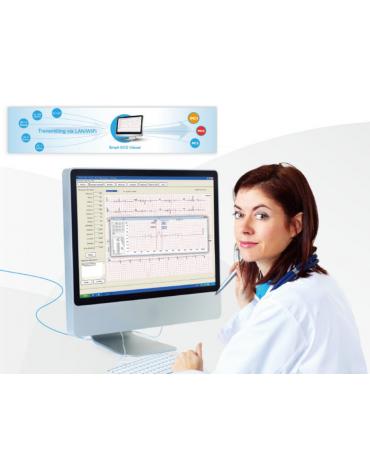 Software di visualizzazione per la gestione dei dati ECG basata su PC - cod. DN34723