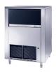 Produttore fabbricatore di ghiaccio a cubetti pieni 130 Kg/24h - Contenitore da 65 Kg
