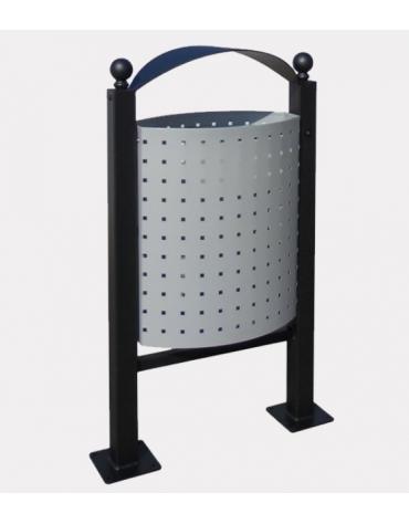 Coperchio per posacenere in acciaio zincato e verniciato per cod. DN34994 - DN34995 - DN34996 - DN34997