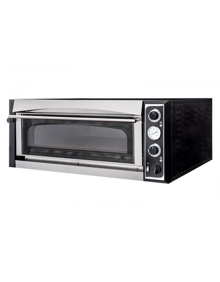 Forno elettrico per pizzeria professionale da 4 pizze camera cm 72x72x14h forni per pizzeria - Forno elettrico per pizze ...