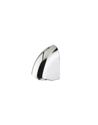 Soffione doccia a parete antivandalo ed antipiccagione con diffusore orientabile