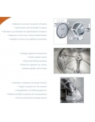 Macchina gelato combinata pastorizzatore-mantecatore - Carica per ciclo 2-4 Kg - Produzione oraria Kg 25 - Ad acqua
