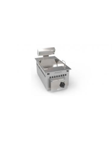 Scaldapatate elettrico da incasso, vasca GN2/3 dim. cm 32,5x35,4x20h - dim tot. cm 35x60
