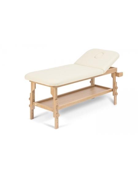 Letto legno per fisioterapia massaggi e visita medica con for Altezza letto