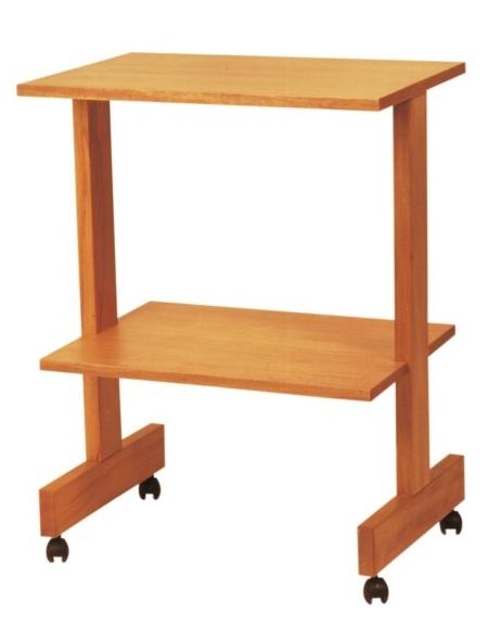 CARRELLO LEGNO A DUE RIPIANI - Linea legno - Arredamento Studio ...