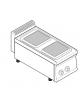 Piano di cottura elettrico trifase-5,2kw, 2 piastre cm 22x22 - cm 35x70x28h
