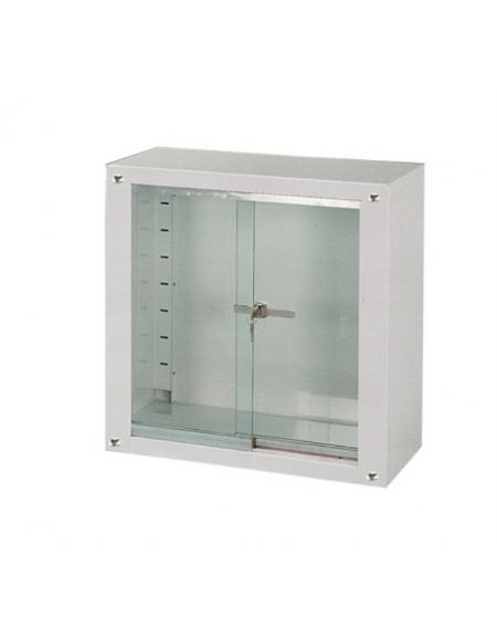 Armadio pensile con due ante scorrevoli in vetro for Armadio ante scorrevoli usato