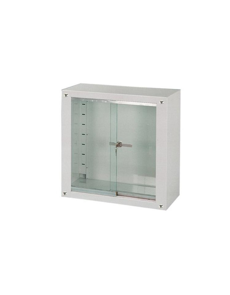 Vetrina Vetro Due Ante Oregina : Armadietto vetrina ad ante scorrevoli in vetro