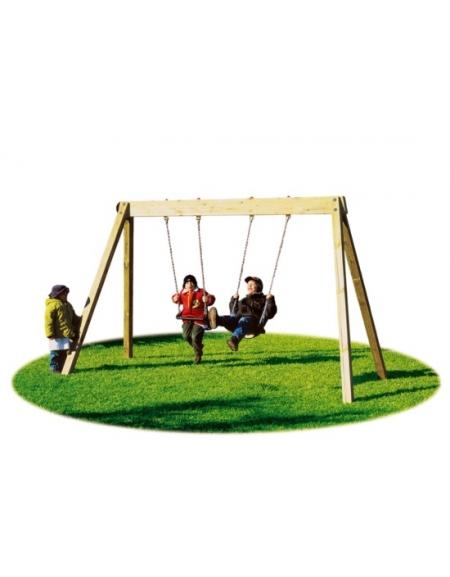 Altalena giamaica 2 posti sedili gabbia altalene per - Altalene bambini per esterno ...
