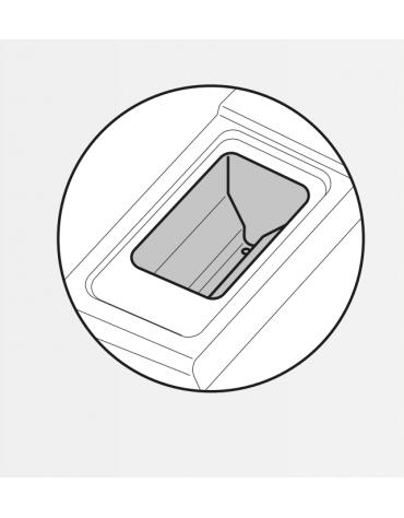 "Friggitrice a gas freestanding, 1 vasca a ""V"" dim. cm 24x34,2x31,5h - 13lt - cm 40x70x90h"