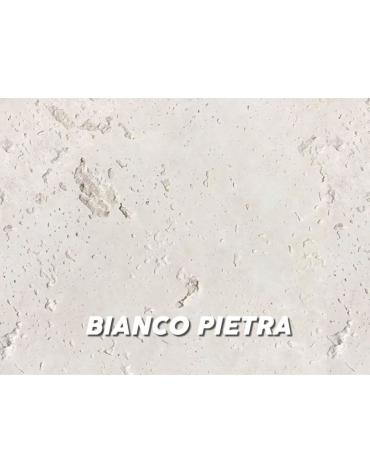 Portabici in cemento bianco