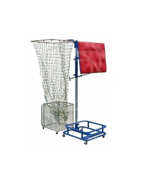 Simulatore di muro con ball catcher attrezzi for Simulatore arredamento
