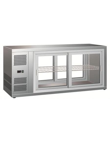 Vetrina Frigo Ante Scorrevoli.Vetrina Refrigerata Ventilata Con Porte Scorrevoli Da Cm 111