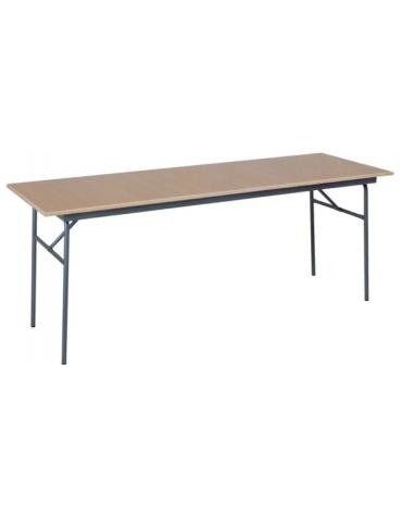 Tavolo con gambe ripiegabili da cm 250