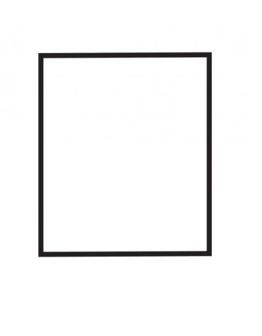 Fry top elettrico trifase-4,5kw da banco, piastra liscia cromata, r. temp. 50 a 300 °C - dim. 40x60x28h