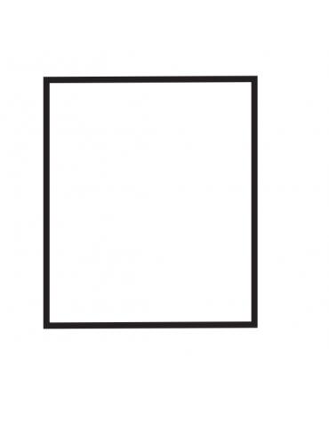 Fry top elettrico trifase-6,75kw da banco, piastra liscia doppia, r. temp. 50 a 300 °C - dim. 60x60x28h