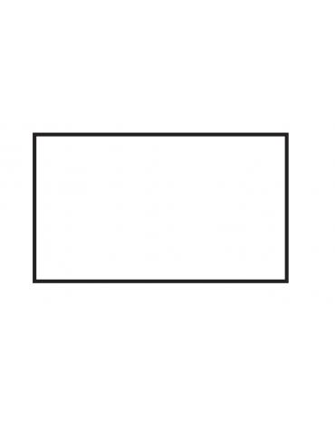Fry top elettrico trifase-11,25kw da banco, piastra liscia doppia cm 99,5x45, r. temp. 50 a 300 °C - dim. 100x60x28h