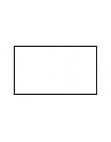 Fry top a gas da banco, 12 kw, piastra doppia liscia cromata, consumo gas 0,349m³/h - sup. di cottura cm 79,5x45  - cm 80x60x28h