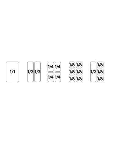 Cuocipasta elett. su mobile trifase, 2 vasche cm 30,5x33,5x30h, capacità 25+25 lt., cesti esclusi  - cm 80x70,5x90h